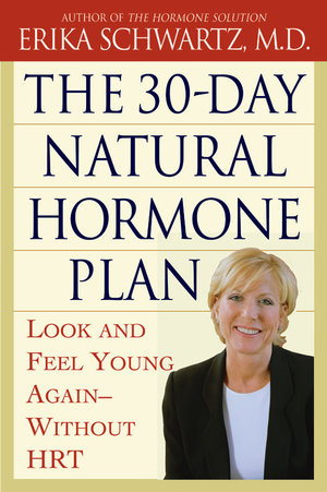 Book cover: The 30-day Natural Hormone Plan