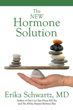 Book cover: The New Hormone Solution